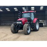 2013 Case Maxxum 140 50kph 4wd Powershift tractor with multicontroller joystick, front linkage, cab