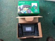 OnTrak GPS system for use with iPhone or iPad