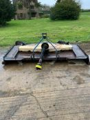 2003 Wessex 2.75m pasture topper with spare blades. Please Note: this lot is located at Crown Farm,