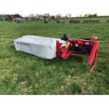 2008 Lely Splendimo 205 Classic 2m linkage mounted disc mower. Serial No: 0003059559. N.B. In