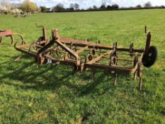 Springtine cultivator 8ft 6inch linkage mounted