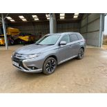 2017 Mitsubishi Outlander PHEV Super all wheel control AWD Automatic commercial SUV with alloy wheel