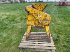 Bamford roller mill 3ph. Serial No: 70810482
