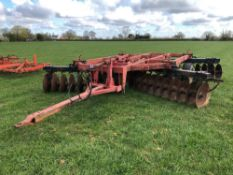 1991 Overum 4.6m trailed discs. Model: TWH91310064. N.B. Instruction manual in office