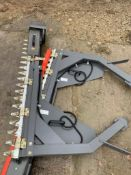 Pair Zeigler electric belt driven combine side knives to fit Massey Ferguson Delta combine. Please N