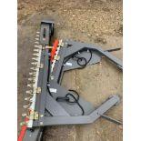 Pair Zeigler electric belt driven combine side knives to fit Massey Ferguson Delta combine. Please N