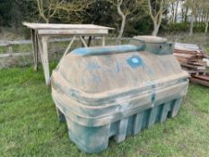 Balmoral bunded plastic tank on stand
