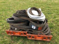 Quantity drive belts