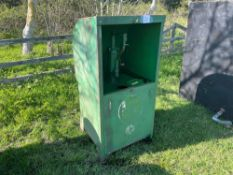 Castrol oil tank with pump