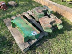 Quantity John Deere tractor weights