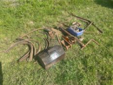 Quantity miscellaneous metal and spares
