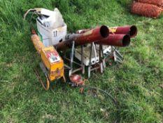 Quantity gas guns, spares or repairs