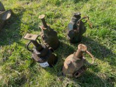Quantity bottle jacks