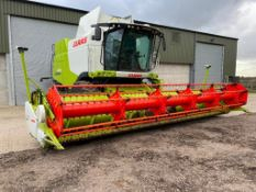 2015 Claas Lexion 650 combine harvester, telematics ready with straw chopper and rear tow hitch and