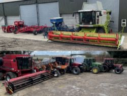 Sale by Online Timed Auction of Modern Farm Machinery, Implements and Equipment Due to a Change in Farming Policy
