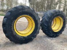 Set of stocks wheels