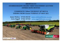 Humber Region Online Timed Auction