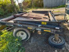 PhiBer AC3104x automatic bale sledge