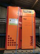 2008 Hoval BioLyt pellet boiler