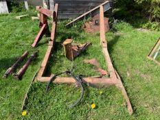 Vintage tractor loader