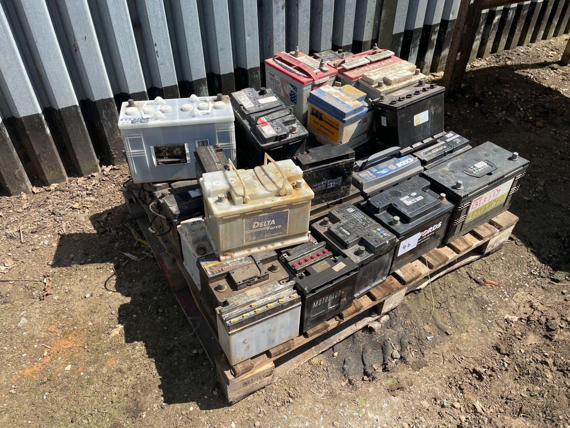 Quantity batteries