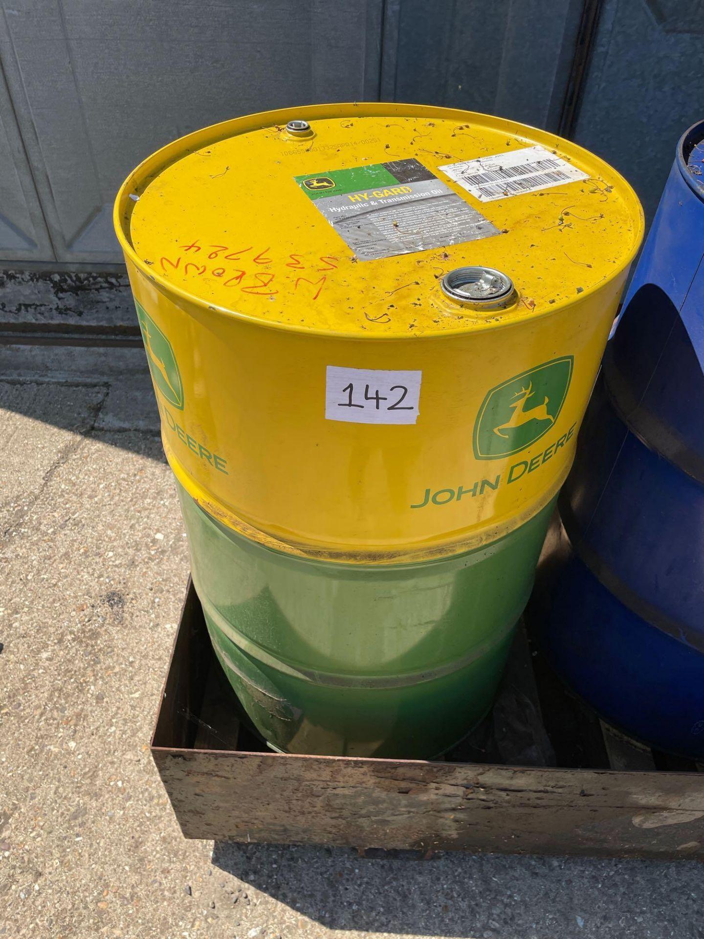 Quantity John Deere Hyguard hydraulic transmission oil