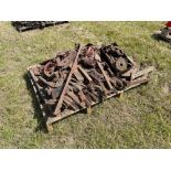 Various cultivator spares