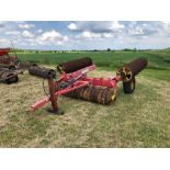 Vaderstad Rollex 620 Cambridge rolls, 6.2m hydraulic folding on 10.0/80-12 wheels and tyres. Serial