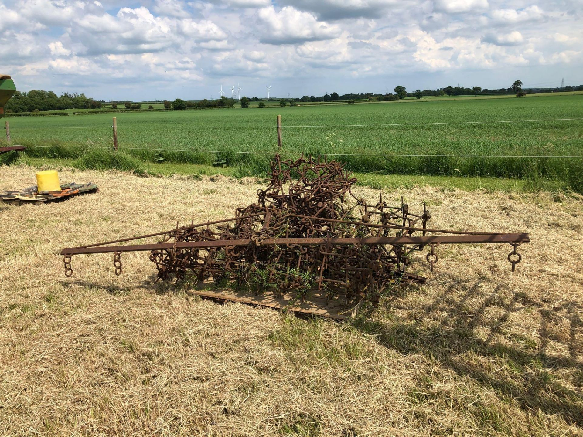 Chain harrows - Image 2 of 2
