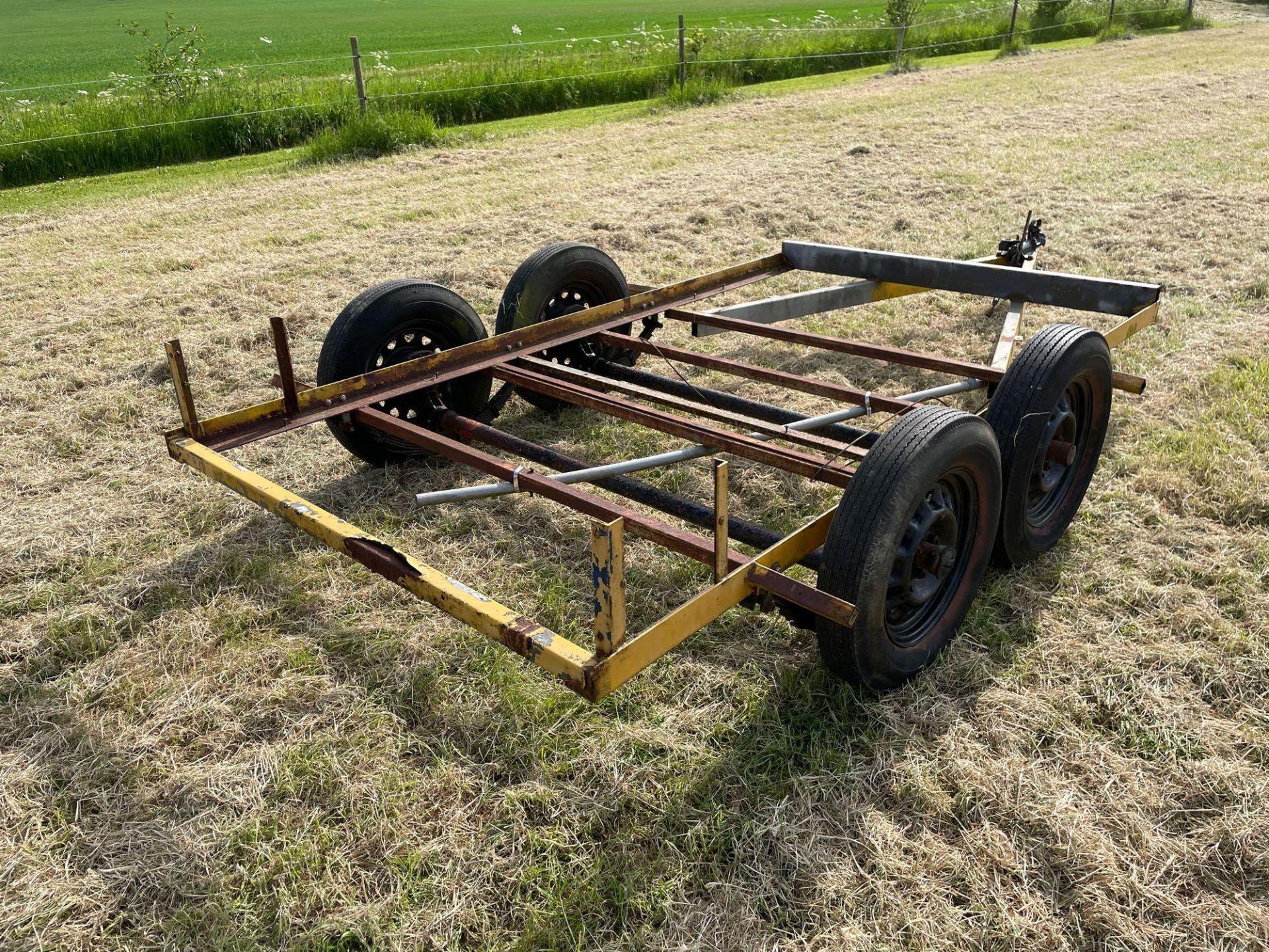 Single axle car trailer frame - Image 4 of 4