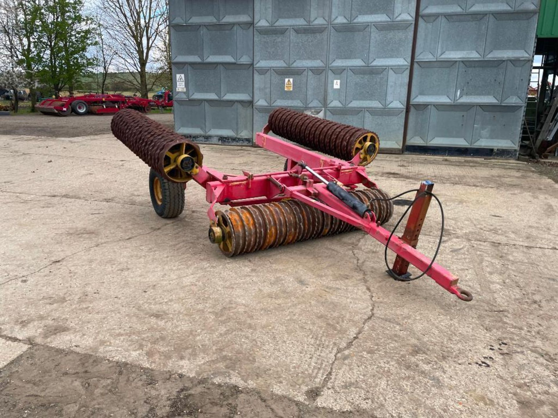 Vaderstad Rollex 620 Cambridge rolls, 6.2m hydraulic folding on 10.0/80-12 wheels and tyres. Serial - Image 6 of 12