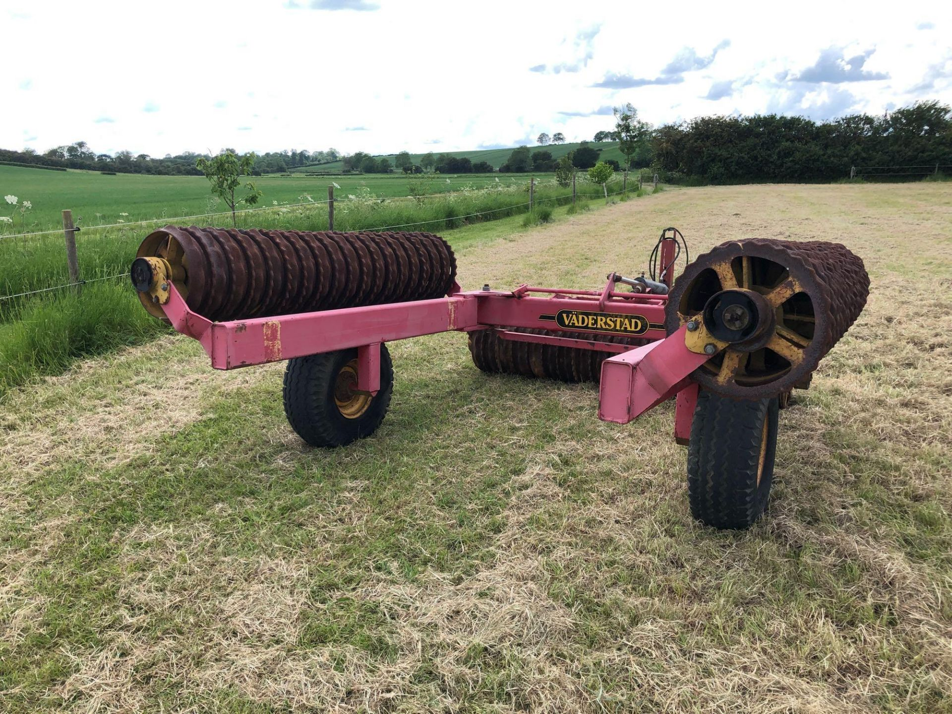 Vaderstad Rollex 620 Cambridge rolls, 6.2m hydraulic folding on 10.0/80-12 wheels and tyres. Serial - Image 12 of 12