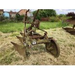 Ransomes 3f conventional trailed plough
