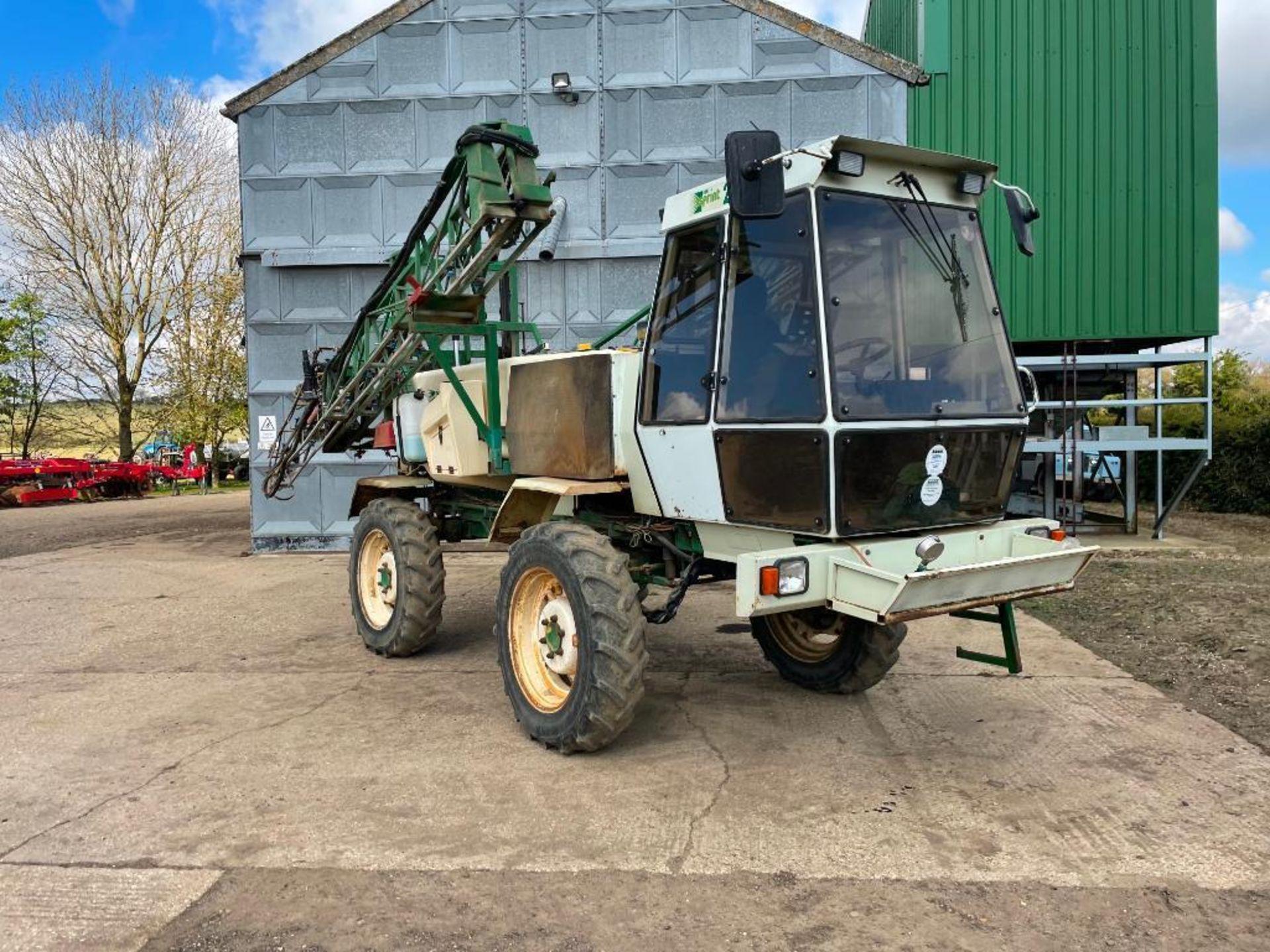 1994 Househam HS Sprint 2000 24m self propelled sprayer, 2000l tank on 12.4R28 wheels and tyres. Reg - Image 11 of 19