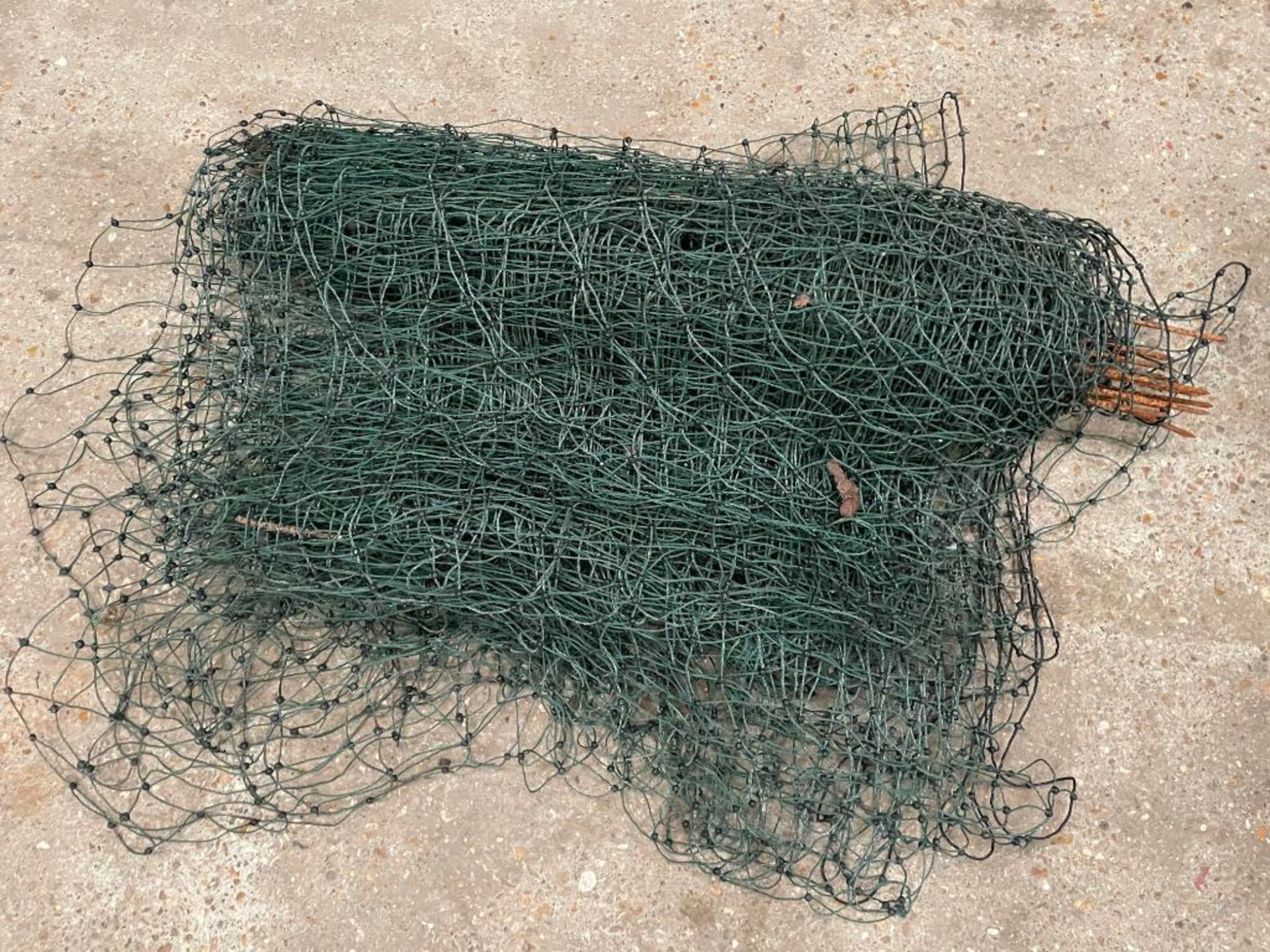 Quantity netting and poles - Image 2 of 2