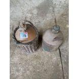 Pair vintage jugs