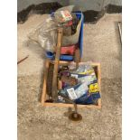 Quantity concrete bolts and other spares