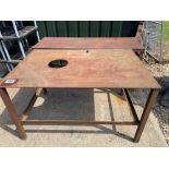 Pair workshop tables
