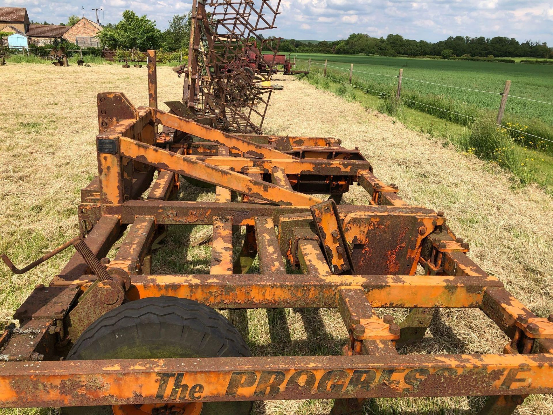 The Progressive cultivator, 4m linkage mounted. Serial No: 201434. Type: 4MH79 - Image 6 of 7