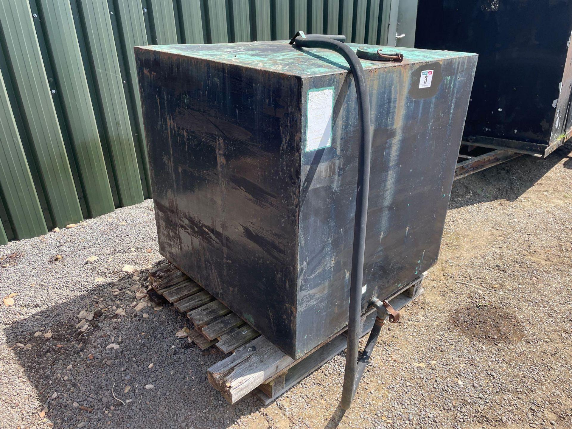 Metal tank - Image 2 of 2