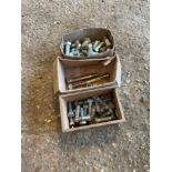 Assorted heavy duty bolts