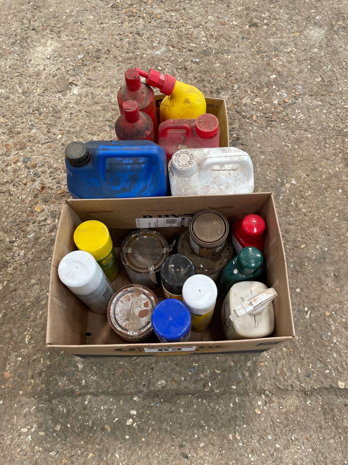 Quantity paints and cleaners - Image 2 of 2