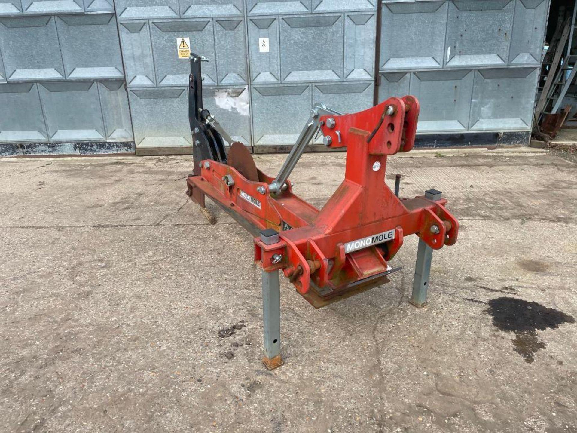 2013 Proforge Monomole single leg mole drainer. Serial No: 32757 - Image 3 of 8