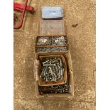 Quantity nuts, bolts, washers