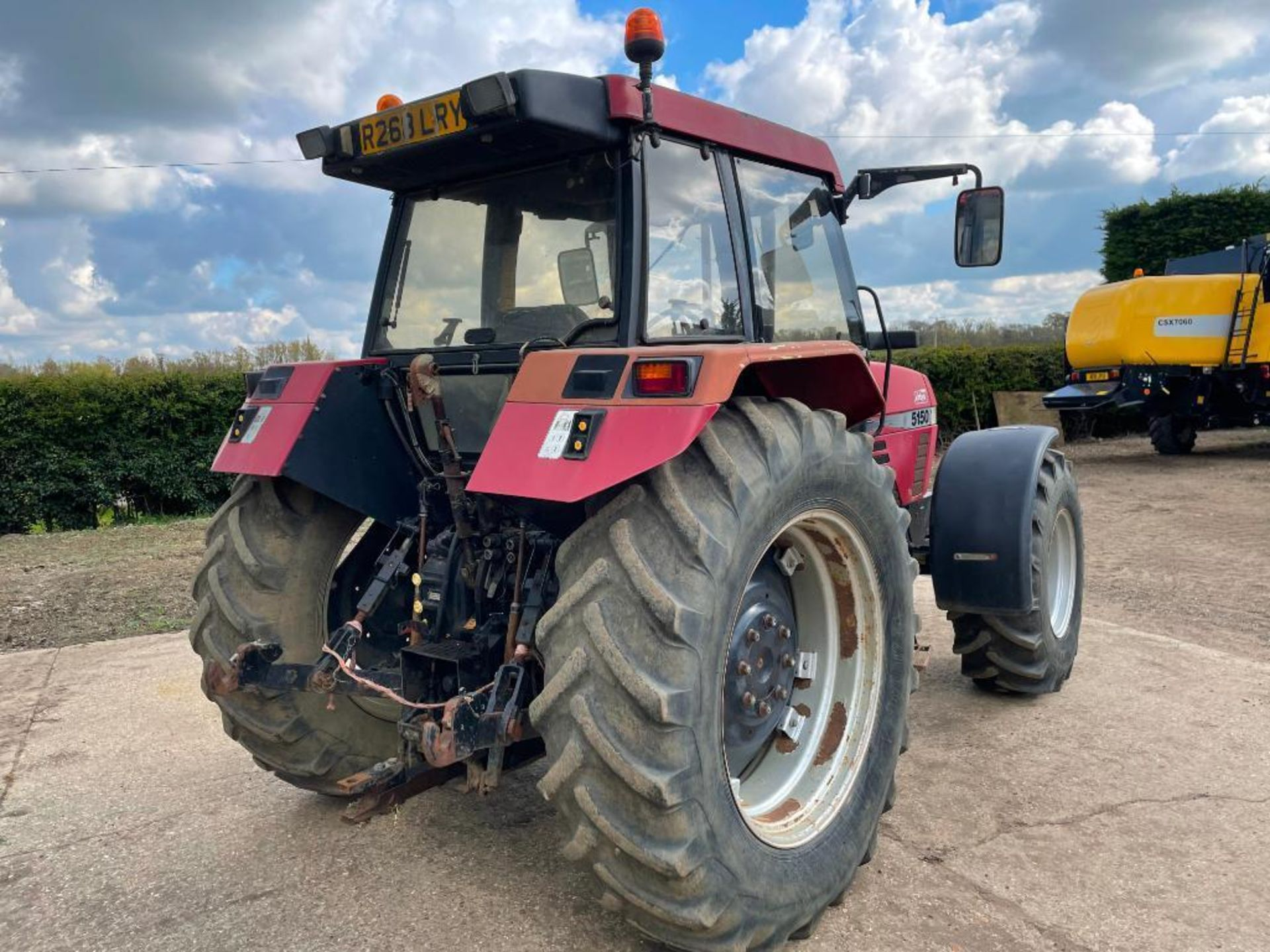 1997 Case IH 5150 Maxxum Plus Powershift 4wd tractor with 2 spools, PUH and front wafer weights on 1 - Image 9 of 13