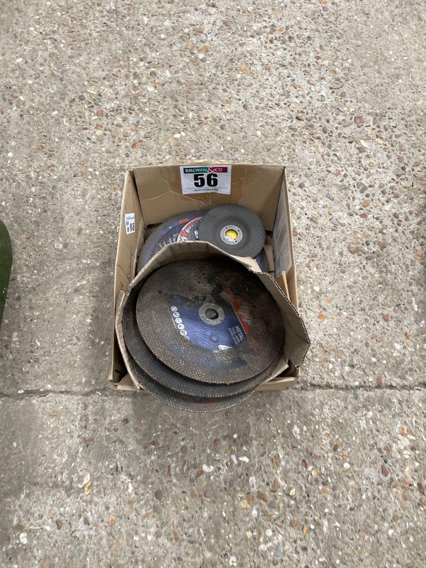 Quantity grinding discs