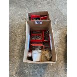 Assorted nuts, bolts, screws etc