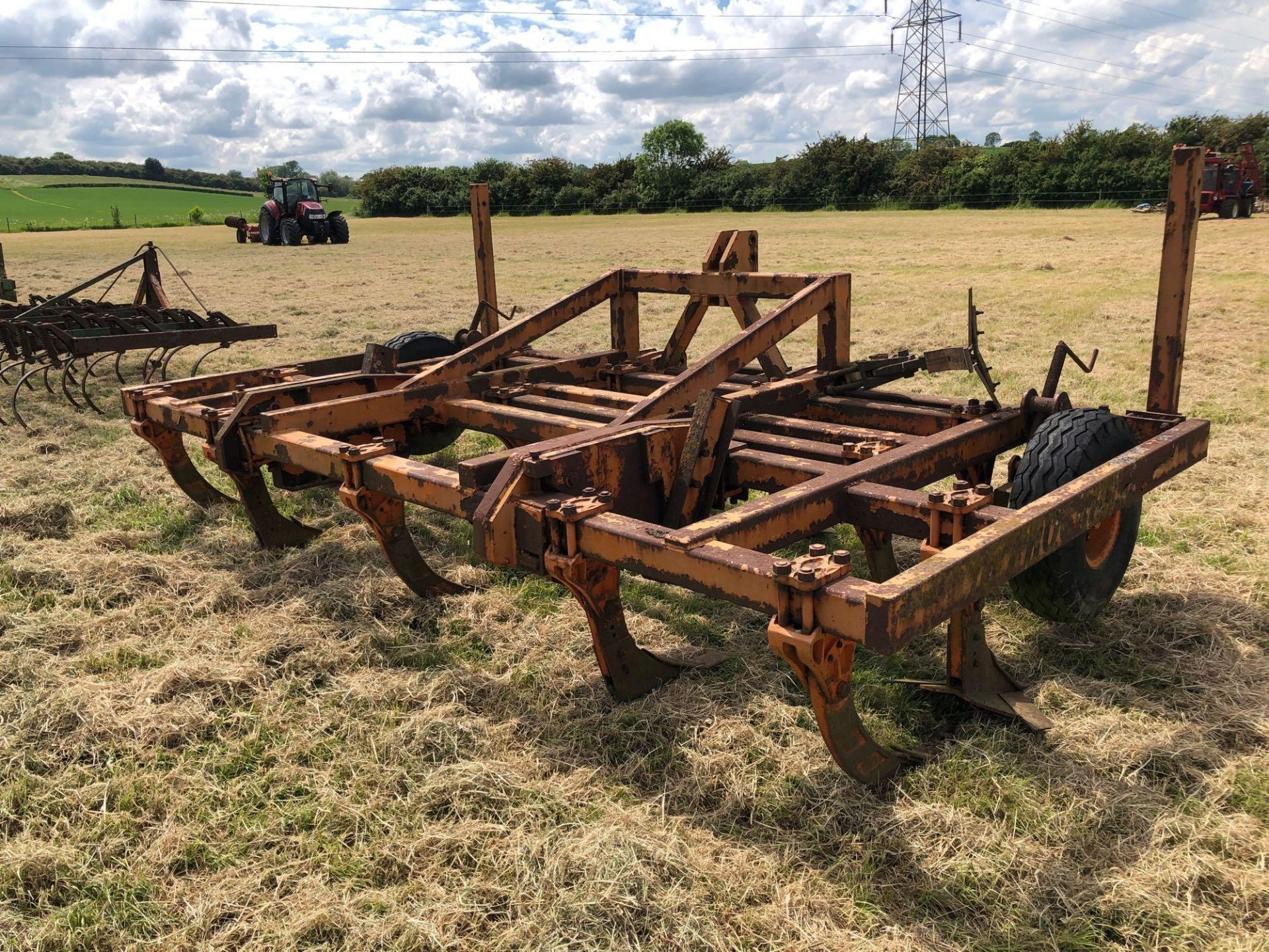 The Progressive cultivator, 4m linkage mounted. Serial No: 201434. Type: 4MH79 - Image 3 of 7