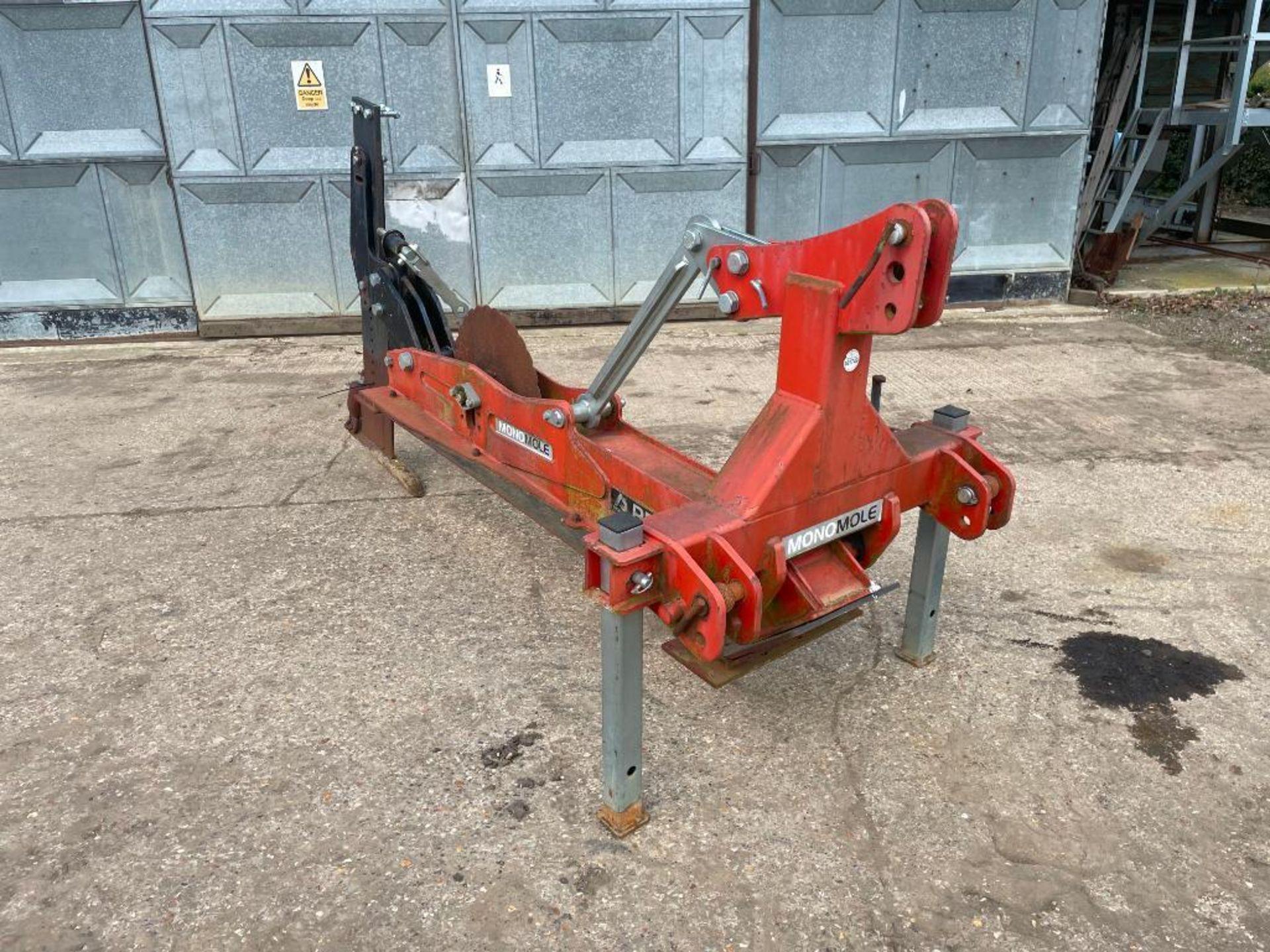 2013 Proforge Monomole single leg mole drainer. Serial No: 32757 - Image 2 of 8