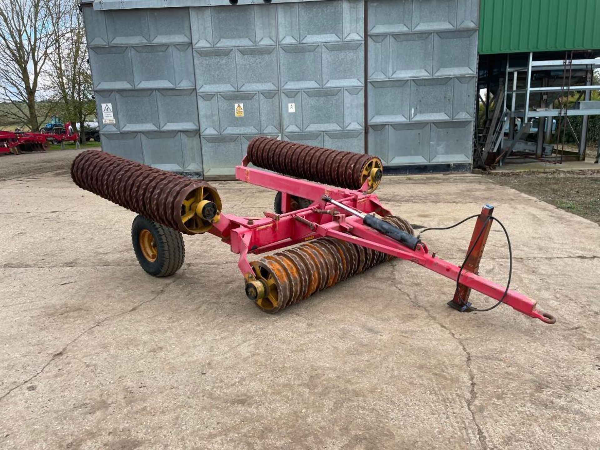 Vaderstad Rollex 620 Cambridge rolls, 6.2m hydraulic folding on 10.0/80-12 wheels and tyres. Serial - Image 3 of 12